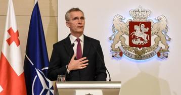 Йенс Столтенберг – Грузии: «Надеемся скоро увидеть вас в НАТО»