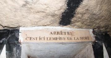 Правда ли,что парижские катакомбы сделаны изкостей?