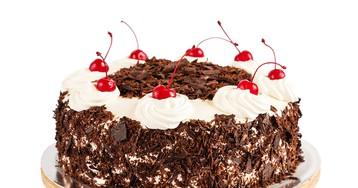 Шварцвальдский пирог с вишней