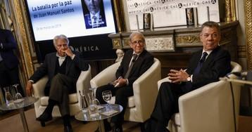 """Juan Manuel Santos: """"Hasta mi familia me presionaba para que rompiera las negociaciones de paz"""""""