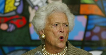 Trump Pissed Off Barbara Bush So Much It Gave Her a 'Heart Attack'