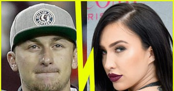 Quarterback Johnny Manziel Confirms Split From Wife Bre Tiesi After Her Cheating Accusation