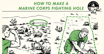 How to Make a Marine Corps Fighting Hole