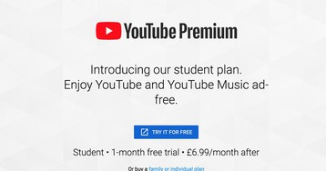 Student pricing for YouTube Premium is available in the UK, Australia, Canada, and 5 other new countries