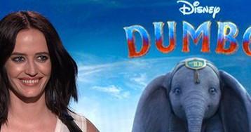 Eva Green on Trapeze Artist Training for Tim Burton's 'Dumbo'