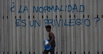 Venezuela, sin luz, sin agua