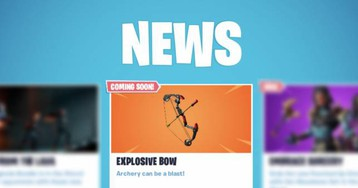 Fortnite Boom Bow weapon is official: Everything we know so far