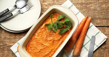 Вкуснейшее морковное суфле