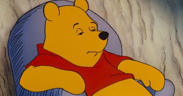 Class things up with this 'fancy' Winnie the Pooh meme