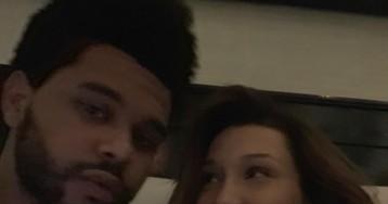 Белла Хадид поделилась редкими романтичными фото с The Weeknd