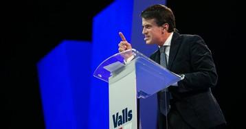 Manuel Valls registra su propio partido