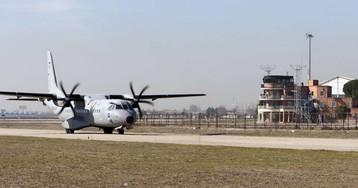 Diez heridos en una salida de pista de un avión cuando participaba en un simulacro de rescate en Jaca