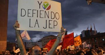 La 'guerra' contra la libertad sexual llega al tribunal de paz de Colombia