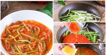Черемша в томатном соусе: пошаговый фото рецепт