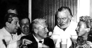 Hemingway burla el embargo a Cuba
