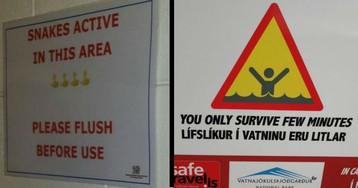25 Highly Threatening Warning Signs That Really Make Their Point