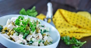 Лёгкий белковый салат