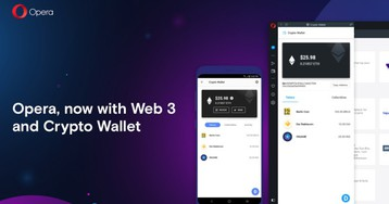 Opera adds crypto wallet to its desktop browser, launches anti-Chrome campaign in Europe