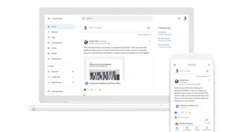 Google+ for G Suite is now Google Currents, featuring a new look