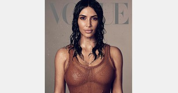Kim Kardashian Covers 'Vogue' & Confirms She's Studying to Become a Lawyer