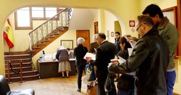 Solo un 8% de los españoles en el exterior solicitan votar el 28-A