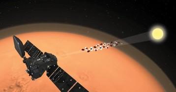 Марсианский орбитальный зонд ExoMars-TGO не нашел метан в атмосфере Красной планеты