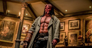 David Harbour on why 'Hellboy' is the perfect date night movie