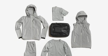 Descente & DSPTCH Drop Packable Wardrobe Essentials for the Everyday Explorer