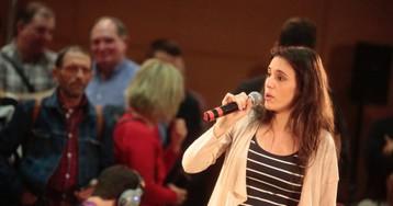 Irene Montero asume el protagonismo el primer día de campaña de Unidas Podemos