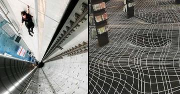 25 Brain-Bending Pics of Warped Perspective