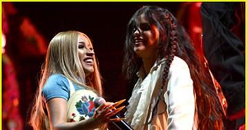Selena Gomez & Cardi B Give Surprise Coachella Performance During DJ Snake's Set!