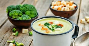 Вкуснейший суп-пюре из брокколи
