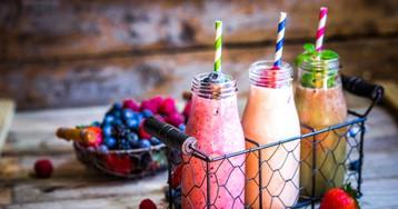 Смузи: витаминный заряд или завтрак в стакане