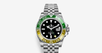 """Rolex's GMT-Master II Gets Imagined in a """"Sprite"""" Colorway"""