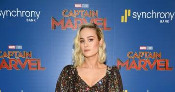 Este vestido da Brie Larson tem tudo a ver com a Capitã Marvel