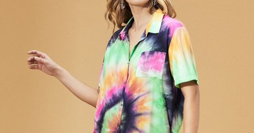 The Tie-Dye Button-Down to Help Maria Channel 'Vacation Dad' This Summer