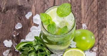 Освежающий безалкогольный мохито