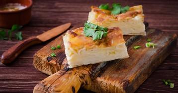Домашняя ачма с сыром и творогом