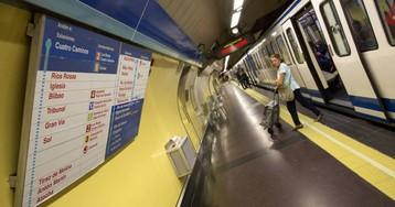 Metro ampliará el cierre parcial de la línea 2 a la estación de Sol