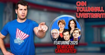 Watch CNN town halls LIVE NOW with Steven Crowder