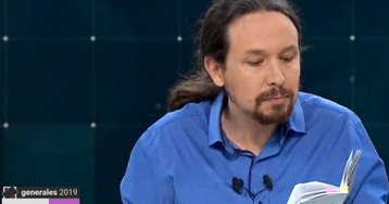 Pablo Iglesias se apoya en la Constitución para defender sus propuestas económicas