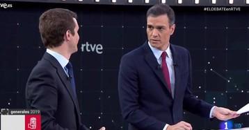 Sánchez no quiere un gobierno de coalición con Iglesias