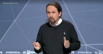 """Pablo Iglesias: """"En nombre del movimiento feminista no podemos hablar cuatro hombres"""""""