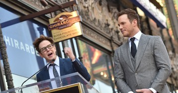Chris Pratt 'So Thrilled' About James Gunn's 'Guardians of the Galaxy' Rehiring