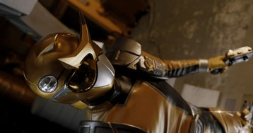 Get Your First Look at Power Rangers: Beast Morphers' Legendary Gold Ranger