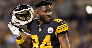 Antonio Brown Issues Warning to Ex-Teammate Ryan Clark: 'It's on Site Ain't Gone Spare U'