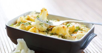 Аппетитная запеченная цветная капуста с сыром