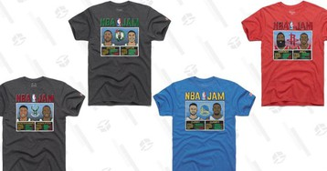 I Want to Throw Money From Way Downtown At These NBA Jam T-Shirts
