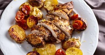 Куриное филе в медово-имбирном маринаде в духовке
