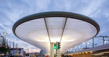 bus station that generates its own energy by cepezed architects opens in tilburg